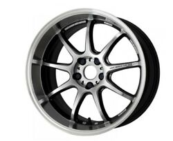 Work Emotion D9r 19x9.5/10.5j +30/+30 5x114.3 Silver Set Of 4 Wheels From Japan