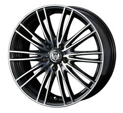 Weds Rizley Ma 17x7.0j +40 5x114.3 Wheels Rims Set Of 4 For Jdm From Japan