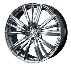 Weds Leonis Fy Wheels 17x7.0j +47 5x114.3 For Honda Integra Type R Made In Japan