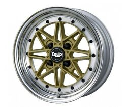 Work Equip03 Wheels Gold 15x7.0j +20 Set Of 4 For Toyota Ae86 Etc. From Japan