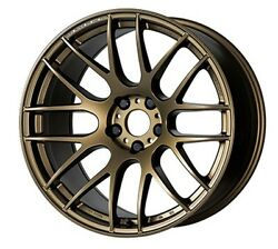 Work Emotion M8r 18x7.5j +38 Ashed Titan For Toyota Mark X From Japan