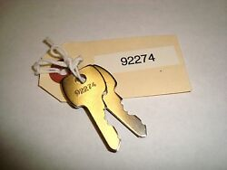 Ford Tractor Lucas E2nn11603aa 92274 83932555 Ignition Key Qty. 2