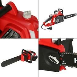16 In. 12 Amp Electric Chainsaw   Homelite Corded Bar Tool Automatic Wraparound