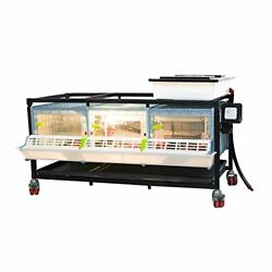 Poultry Brooder Chicken And Quail Brooder Comfortplast Pvc Cages Patented Dsgn
