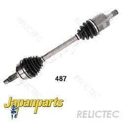 Front Left Drive Shaft Hondaaccord Vii 7 44306-sea-n50