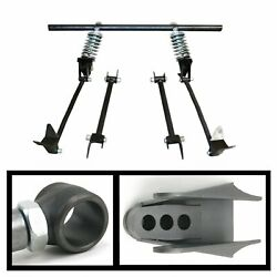 Triangulated Rear 4-link W/ Coilovers 46 1946 Ford Pickup - Truck Panel