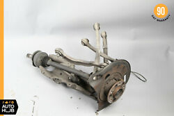 07-13 Mercedes W221 S550 CL550 Rear Right Spindle Knuckle w Control Arms OEM