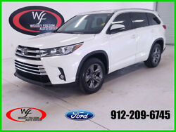 2017 Toyota Highlander Limited 2017 Limited Used 3.5L V6 24V Automatic FWD SUV Premium Moonroof