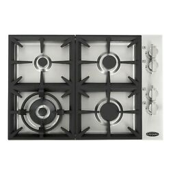 Cosmo 30 in. Drop In Gas Cooktop in Stainless Steel with 4 Italian Made Burners