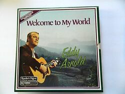 Eddy Arnold - Welcome To My World 6-record Set Vintage Collectable Lp Album Vg++