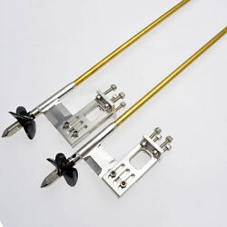 4mm Left And Right Flex Cable With Adjustable Strut Prop Drive Dog For Rc Boat