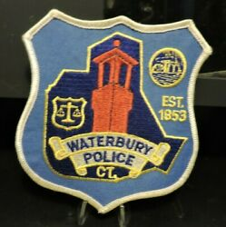 Patch Retired Waterbury, Connecticut Police Dept.patch