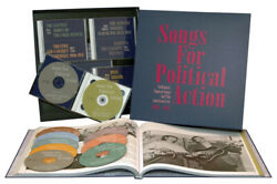 Various - History - Songs For Political Action 10-cd - Folk