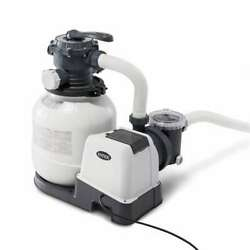 Intex 2100 Gph Above Ground Pool Sand Filter Pump Automatic Timer For Parts