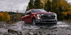 2020 Ford F-250 Super Duty Red Poster 24 X 36 Inch
