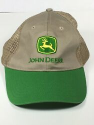 John Deere Embroidered Trucker Hat• SnapBack• Mesh •  MPC •Tri County Equipment $16.95