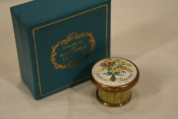Halcyon Days Bilston And Battersea First Edition Mothers Day 1975 Enamel Box