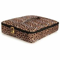 Big Makeup Bag With Compartments Large Cosmetic For Women Travel Organizer Case
