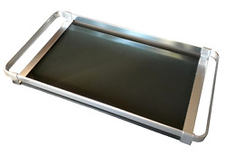 Mid Century Modern Bauhaus Style Serving Tray Vintage Cocktail Tray 1970s