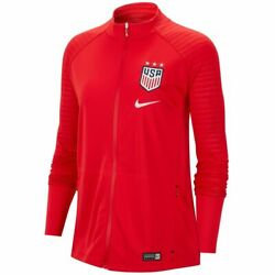 Nike United States Usa Womens Uswmnt Wc 2019 Line Up Anthem Soccer Jacket Red