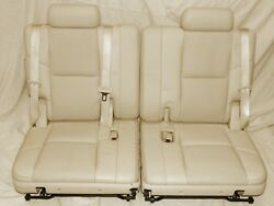 2007-2008 Escalade Third Row Seats Very Light Cashmere F5100