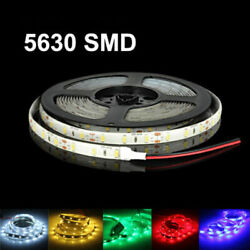 16ft 5630 Super Bright Waterproof 300 LED Strip Light DC12V 6A W 3M Tape Lamp US