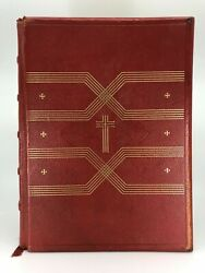 Huge 13 Ibs 13 By 5.5andrdquo King James Kjv Bible Oxford University Press Red Leather