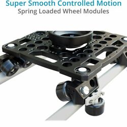 Proaim Flymate 8ft Camera Slider Track Dolly  super smooth controlled motion