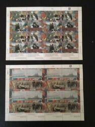 Marshall 1989-95 World War Ii 2 Complete Collection 100 Sheets W1-100 239//524