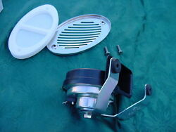 Sea Ray Boat Horn And Flush Mount Stainless Cover Marine 12 Volt 1225549 New