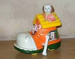 Vintage 1970and039s Echo Hong Kong Dog In A Boot Wind-up Toy
