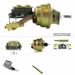 60-62 Chevy Pickup Truck V8 Manual Fw Mount Power 7 Dual Booster Kit Drum/drum