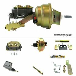 1960-62 Chevy Truck Mt Fw Mount Power 8 Single Booster Kit Disc/disc Protouring