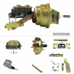 1960-62 Chevy Truck Mt Fw Mount Power 11 Dual Booster Kit Ls Swap 5.3 Disc/disc