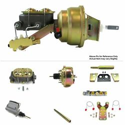 1960-62 Chevy Truck C10 Mt Fw Mount Power 7 Single Booster Kit V8 Sbc Disc/disc