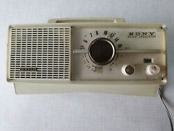 📻 Sony Seven Tr-717-y 2 Band Radio 7 Transistor Japan Extremely Hard To Find