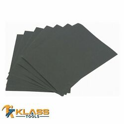 120 Grit Emery Cloth Sandpaper 9 In X 11 In Sheet Sets / Pack