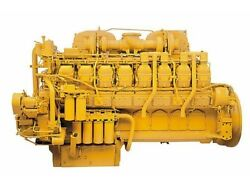 CAT 3516 Diesel Engine. SN:7TR. All Complete and Run Tested.