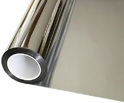 Window Tint One Way Mirror Film UV Heat Reflective Home Office Heat Insulation