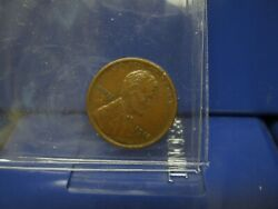 1915 1c Lincoln Wheat Cent Penny Original Brown Lustrous