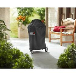 18 In. Charcoal Grill Cover   Weber Premium Kettle Bag Grills With Storage New