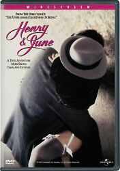 Henry and June DVD Fred Ward NEW $13.99