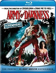 Army of Darkness The Evil Dead 3 Blu ray Ian Abercrombie NEW