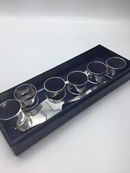 Silver .925 Cake Cutters And Napkin Holder Set