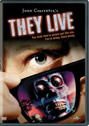 They Live DVD Roddy Piper NEW