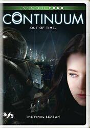 Continuum Season Four Dvd Victor Webster New