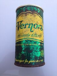 Vintage Vernors Flat Top Soda Can With Pull Tab 1960and039s