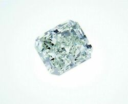 Natural Loose Diamond 1.17 Cts Radiant Color GIA Certified VS1 Fancy Green