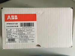 1pc New Abb Dual Power Automatic Switching Controller Ats022 10100414