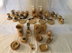 Giant 320 Piece Lot Pfaltzgraff America Collection Dishes + Much More Local Pu
